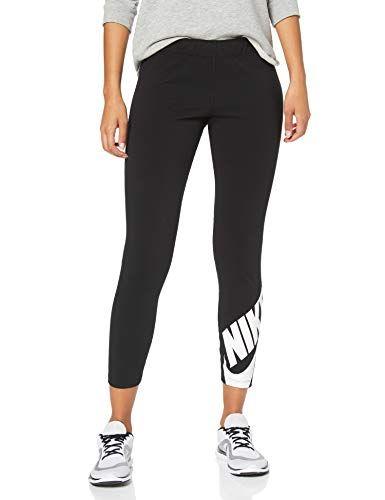 buscar espiritual Emoción  Nike W NSW LEGASEE 7/8 Futura - Leggings, Mujer, Black/White, XS ...