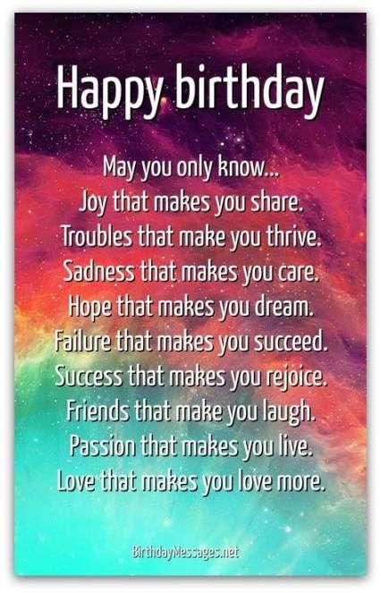 New Quotes Boyfriend Birthday Friends Ideas Birthday Quotes For Best Friend Happy Birthday Wishes Quotes Inspirational Birthday Poems