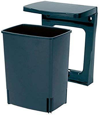 Brabantia 395246 Poubelle De Placard Rectangulaire 10 L Noir