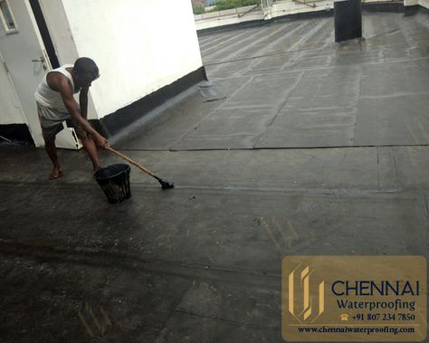 Chennai Waterproofing Building Terrace Waterproofing Terrace Bitumen W Terrace Building City