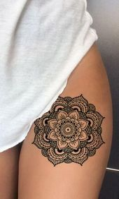 ideas tattoo back women mandala art designs .