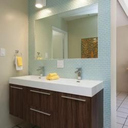 Photo Image Ideas and pictures for remodeling or updating the bathroom of your Eichler or other mid century modern home