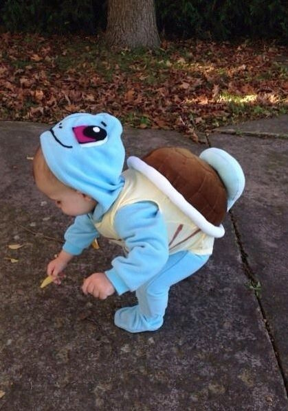 I want a kid just so that I can dress them up like this... -  post