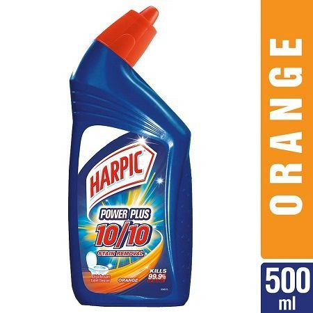 Buy Harpic Power Plus Orange 500ml Harpic Toilet Cleaner Cleaning Chemicals