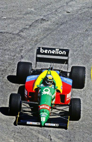 1988 Brazilian Grand Prix Jacarepagua Rio De Janeiro Brazil 1 3 April 1988 Alessandro Nannini Benetton B188 Ford