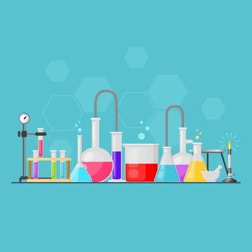 Set Makmal Peralatan Kaca Vektor Imej Png Dan Vektor Peralatan Laboratorium Png Gambar