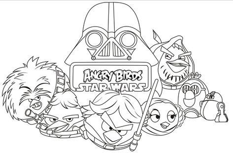 Pin De Natalia Sole En Per Pintar Angry Birds Dibujos Colores