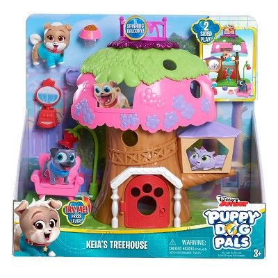 Puppy Dog Pals Keia Treehouse Playset Dogs And Puppies Animals For Kids Best Pets For Kids