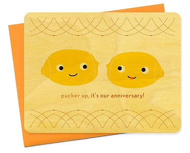 pucker up! by Night Owl Paper Goods