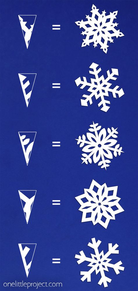 These paper snowflakes are SO FUN and really simple to make! Such a classic craft tutorial that teaches you how to make perfect snowflakes every time! home crafts How to Make Paper Snowflakes Christmas Projects, Christmas Fun, Holiday Crafts, Fun Crafts, Diy Christmas Paper Decorations, Christmas Gift Ideas, Christmas Origami, Simple Crafts, Christmas Crafts With Paper