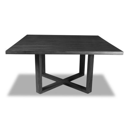 South Cone Home Gail Square Dining Table 72 Inch Top Grey Size