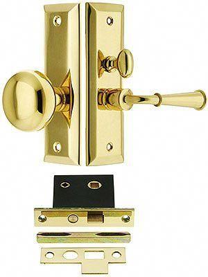 Swarthmore Screen Door Mortise Lock Set With 1 1 2 Backset House Of Antique Hardware Frontdoor Mortise Lock Screen Door Smart Door Locks