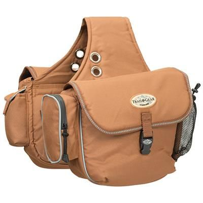 Trail Gear Saddle Bags Weaver Leather Equine Leather Saddle Bags Bags