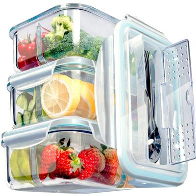 Top 10 Best Glass Food Storage Containers In 2020 Reviews Lunch