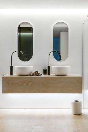 Quelle Forme Choisir Pour Les Miroirs Au Dessus D Une Double