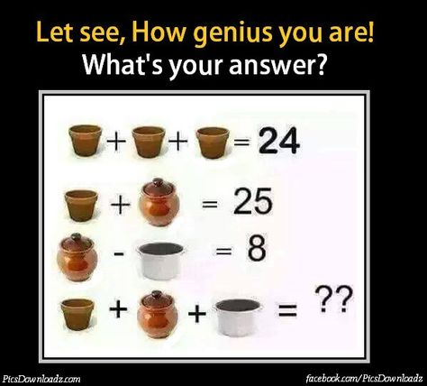 Calling All Geniuses: Can you Solve this Fruit Brainteaser Puzzle ...