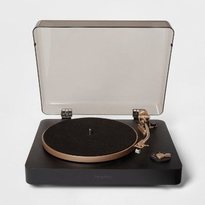 Heyday Turntable Gray Turntable Vinyl Player Best Record Player