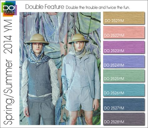Spring Summer 2014 Color Trends for Young Men by Design Options