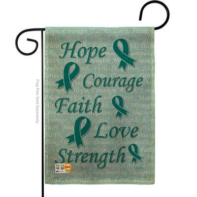 Breeze Decor Hope Faith Courage Inspirational Support Impressions 2 Sided Burlap 1 6 X 1 1 Garden Flag Garden Flags Flag Store Potted Geraniums