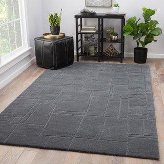 Ellington Grey Wool Handmade Abstract Area Rug 10 X 14 10 X 14 Area Rugs Rugs Outdoor Area Rugs