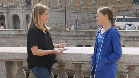 UK carbon emissions target 'doing more harm than good', teen climate activist Greta Thunberg tells