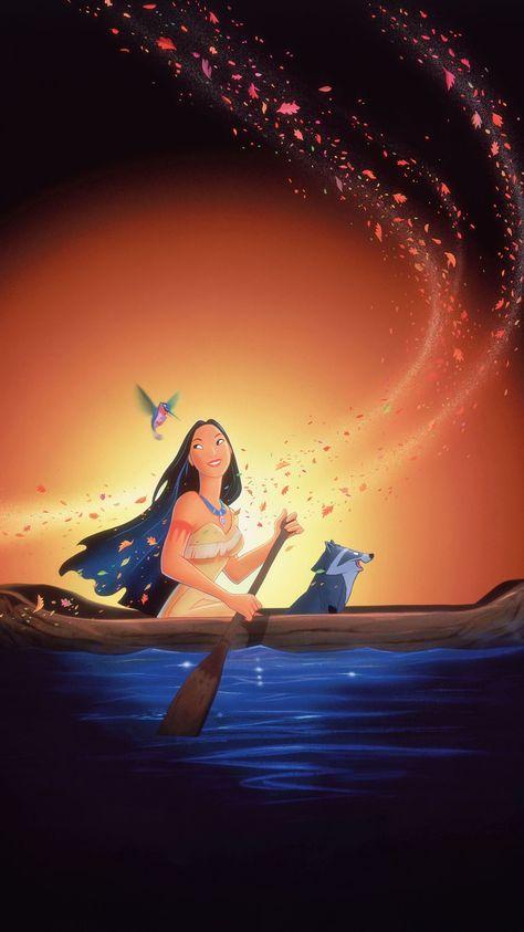 Pocahontas (1995) Phone Wallpaper | Moviemania