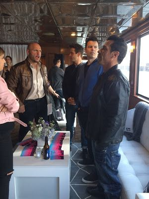 My interview with Jordan Knight, Joey McIntyre and Danny Wood from the New Kids on the Block