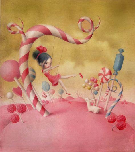 Nicoletta Ceccoli - Illustration - All You Need is Love