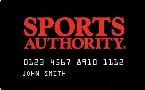 Sports Authority Credit Card Login With Images Sports