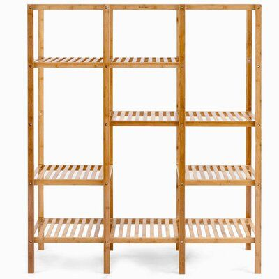 10 Organizers To Buy From Wayfair S Dotted Line Collection In 2020 Shelving Unit Bamboo Shelf Shelving