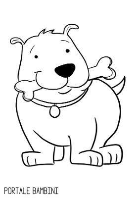 Disegni Di Animali Da Stampare E Colorare Gratis Portale Bambini Nel 2020 Disegni Di Cane Animali Animali Da Fattoria