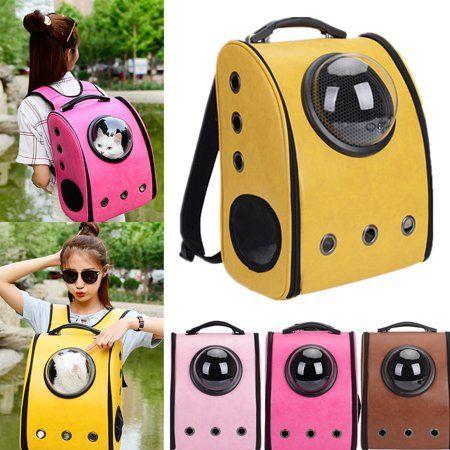 Breathable Window Backpack Travel Outdoor Pet Carrier Shoulder Bag Mobile Bed Winter House For Small Dog Puppy H Pet Backpack Pet Backpack Carrier Dog Backpack
