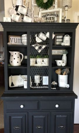 Pin On Kitchen Cottage style dining room hutch