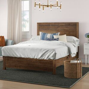 Elyse Armoire Solid Wood Bed Wood Beds Rustic Bed Frame