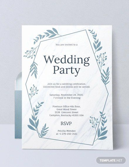 Pre Wedding Party Invitation Unique 29 Wedding Invitation Mockup Designs Creatives In 2020 Wedding Party Invites Party Invite Template Wedding Invitation Card Design