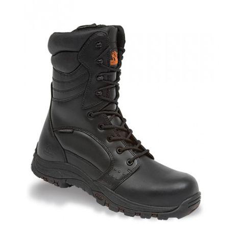 PVC Work Safety Boots Waterproof Lightweight Shoes Steel Toe Cap Portwest FW05