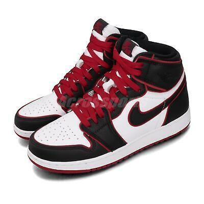 Details About Nike Air Jordan 1 Retro High Og Gs Bloodline Black