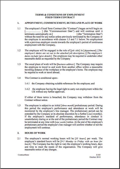 wwwagreementsonlineza/agreements/temporary-employment