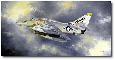 Golden Dragon By David Poole A 4 Skyhawk Aircraft Art Aviation Art Aviation History