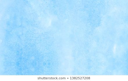 Light Sky Blue Color Watercolor Background Creative Turquoise