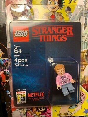 LEGO 2019 SDCC COMIC CON NETFLIX STRANGER THINGS BARB MINIFIGURE EXCLUSIVE LE