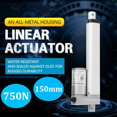 Details About 750n Linear Actuator 12v Electric Motor Auto Lift Window Door Opener 150mm Linear Actuator Actuator Lifted Cars