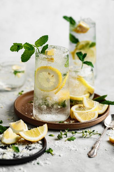 Refreshing Lemon Mojito Recipe Lemon Mojito Recipe Mojito Food