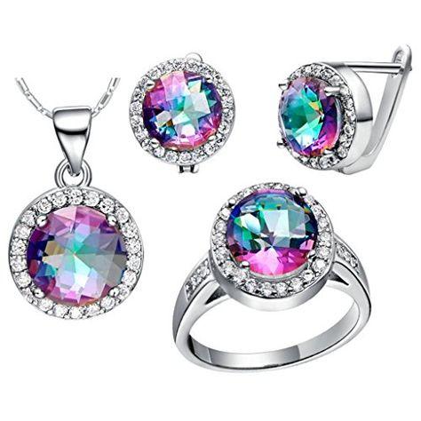 Virgin Shine Platinum Plated Rhinestones Rainbow Round Jewelry Sets VIRGIN SHINE http://www.amazon.co.uk/dp/B00LJZ7Q2K/ref=cm_sw_r_pi_dp_V99Mub0V19WXQ