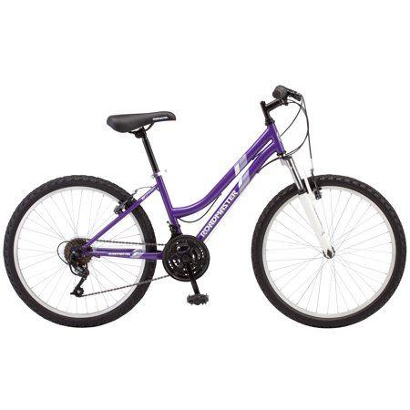 Roadmaster 24 Granite Peak Girls Mountain Bike Purple Walmart Com Mountain Bike Girls Shimano Bike Trek Bikes