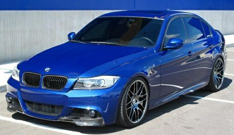 Carbon Fiber Front Splitters For 2009 11 Bmw 328i 335i E90 Lci