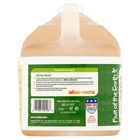 Fruit Of The Earth Aloe Vera Juice Original 128 Fl Oz 1 Count Walmart Com In 2020 Pure Aloe Vera Juice Aloe Vera Juice Organic Juice