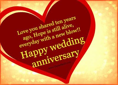 10 Year Anniversary Wishes Messages For Friend Http Www Weddinganniversa Wedding Anniversary Wishes Anniversary Wishes Message Anniversary Wishes For Husband