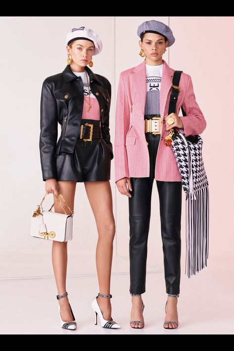 Versace Resort 2019 Milan Collection - Vogue Only the white girls outfit