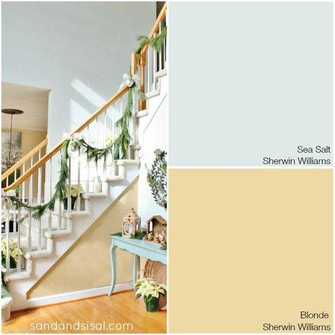 Coastal Colors - Sea Salt + Blonde - Sherwin Williams
